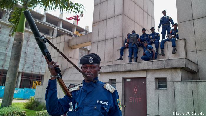 Kongo tödliche Proteste gegen Kabila (Reuters/R. Carrubba)