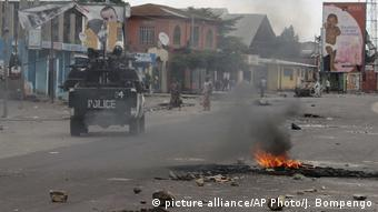 Kongo tödliche Proteste gegen Kabila