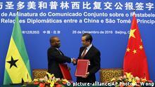 China Sao Tome Taiwan
