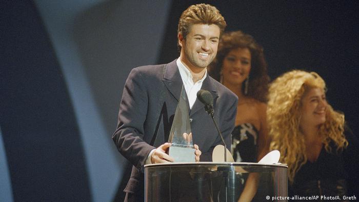 George Michael erhält Obit Musik Award (picture-alliance/AP Photo/A. Greth)