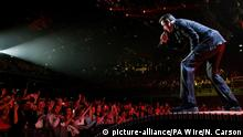George Michael bei Konzert in Dublin