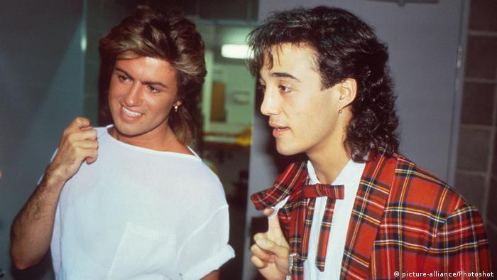 George Michael und Adrew Ridgeley (picture-alliance/Photoshot)