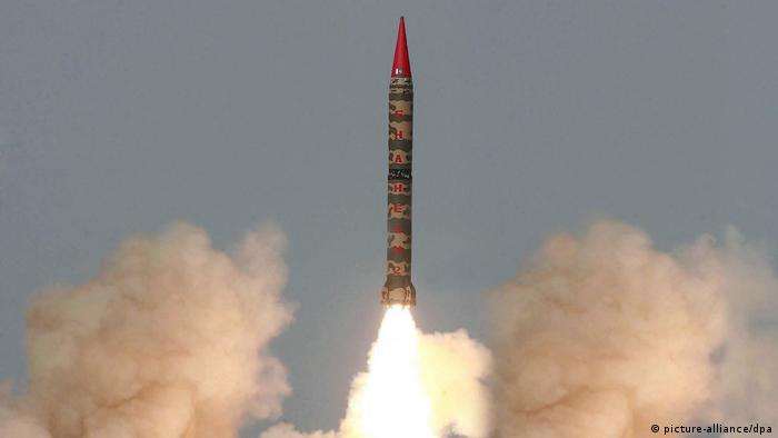Pakistan - Atomraketentest (picture-alliance/dpa)