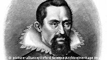 Johannes Kepler, Deutscher Astronom - Portrait frühes 17 Jhr.