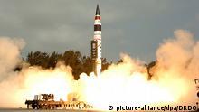 Indien - Raketentest