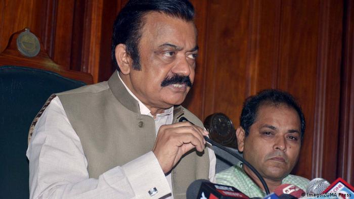 Pakistan Justizminister Rana Sanaullah