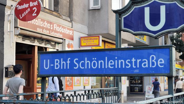 Berlin U-Bahnhof Schönleinstraße