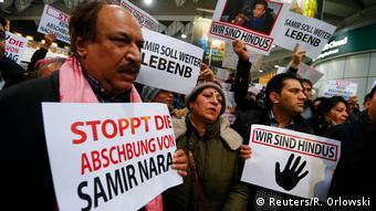 Abschiebung abgelehnter Asylbewerber nach Afghanistan - Proteste