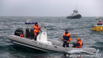 Поисковая операция в районе крушения Ту-154