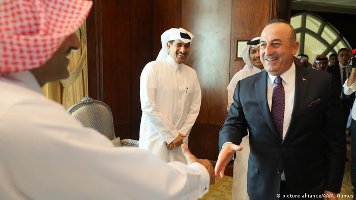 Katar Cavusoglu in Doha (picture alliance/AA/A. Gumus)
