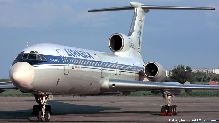 Russland Tupolev 154 (Getty Images/AFP/A. Nemenov)