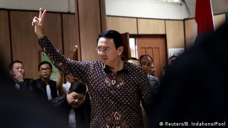Jakarta Muslime protestieren gegen christlichen Gouverneur Basuki Tjahaja Purnama (Reuters/B. Indahono/Pool)