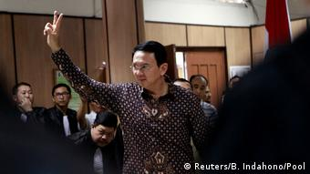 Jakarta Muslime protestieren gegen christlichen Gouverneur Basuki Tjahaja Purnama