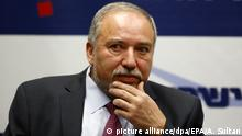 Israel Avigdor Lieberman (picture alliance/dpa/EPA/A. Sultan)