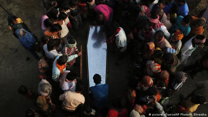 Three to four bodies of Nepali migrant workers arrive in body bags at the Kathmandu airport each day