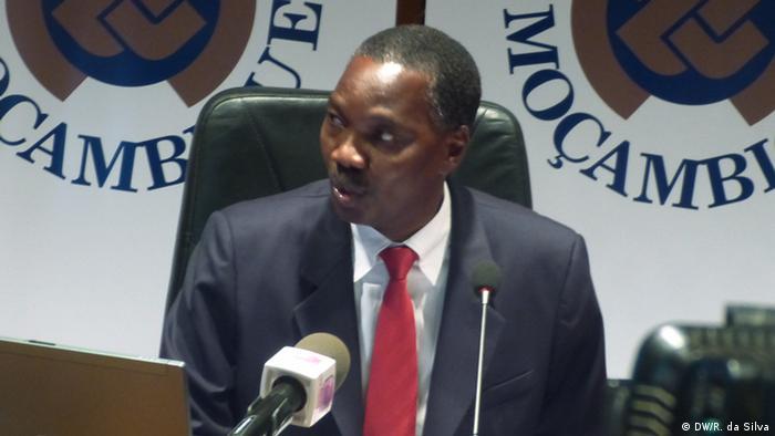 Banken Mosambik - Rogério Zandamela (DW/R. da Silva)