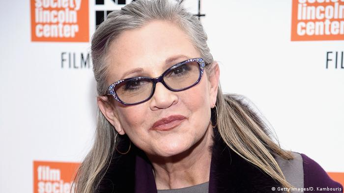 Actress Carrie Fisher at the New York Film Festival in 2016 (Getty Images/D. Kambouris)