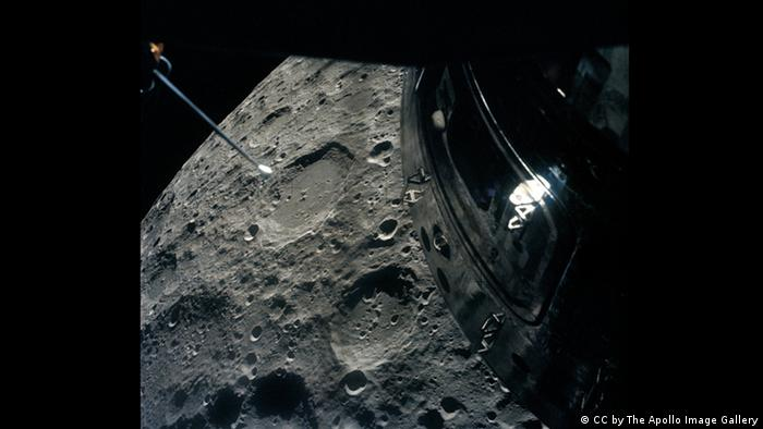Apollo 13 Mond (CC by The Apollo Image Gallery)