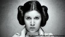 Carrie Fisher als Prinzessin Leia Organa