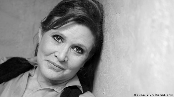 Carrie Fisher (picture-alliance/Zuma/L. Ortiz)