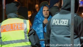 Этот беженец попытался нелегально перейти границу Германии