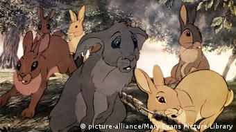 Filmstill aus WATERSHIP DOWN (UK/CAN 1978) NEPENTHE PROD (picture-alliance/Mary Evans Picture Library)