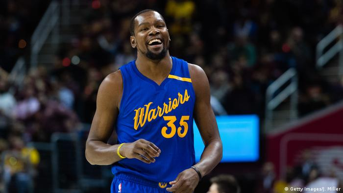 USA Kevin Durant Golden State Warriors v Cleveland Cavaliers (Getty Images/J. Miller)