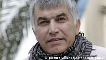 Bahrain Manama - Nabeel Rajab (picture-alliance/AP Photo/H. Jamali)