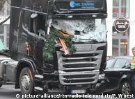 Вантажівка, за допомогою якої Аніс Амрі здійснив напад на різдвяний ярмарок у Берліні