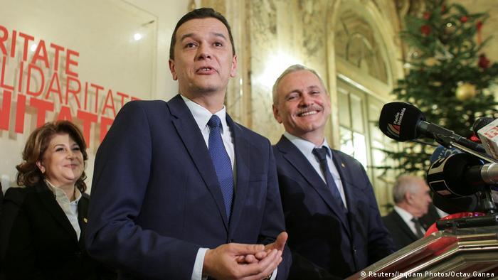 Rumänien Sorin Grindeanu, designierter Parteichef der Sozialdemokraten