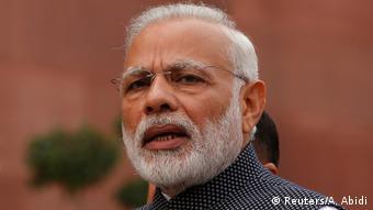 Indien Narendra Modi in Neu-Delhi