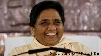 Indien Mayawati in Neu-Delhi