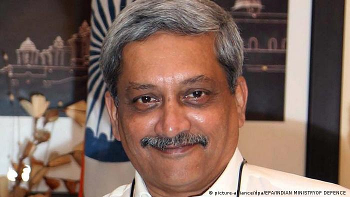 Indien Manohar Parrikar in Neu-Delhi (picture-alliance/dpa/EPA/INDIAN MINISTRYOF DEFENCE )