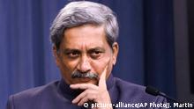 USA Manohar Parrikar in Washington (picture-alliance/AP Photo/J. Martin)