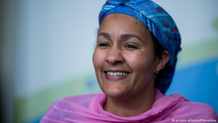 Nigeria Umweltministerin Amina Mohammed (picture alliance/Photoshop)