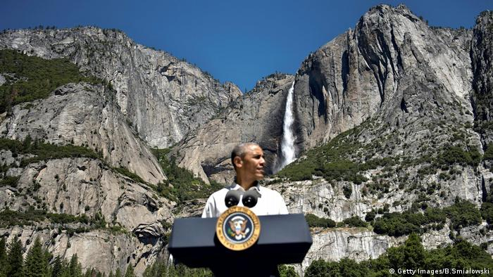 National Park USA Yosemite Barack Obama (Getty Images/B.Smialowski)
