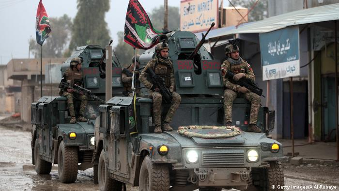 Irak Mossul Militär (Getty Images/A.Al-Rubaye)