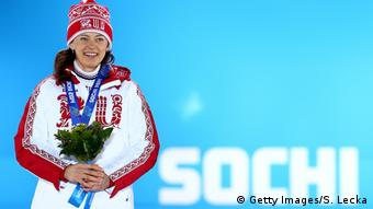 Biathletin Olga Wiluchina (Getty Images/S. Lecka)