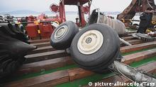 Tupolev Flugzeug Wrack Bergung