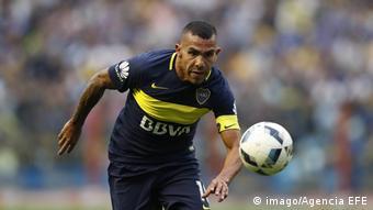 Argentinien Boca Juniors Fußballspieler Carlos Tevez