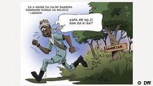 Karikatur: Nigeria - Armee erobert Boko Haram Hochburg Sambisa