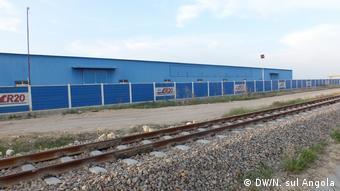 Angola chinesische Baufirma in Benguela