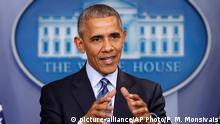 Washington Präsident Obama im Weißen Haus