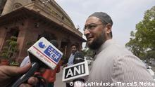 Indien Neu Delhi AIMIM Moslem Politker Asaduddin Owaisi