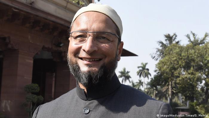 Indien Neu Delhi AIMIM Moslem Politker Asaduddin Owaisi (Imago/Hindustan Times/S. Mehta)