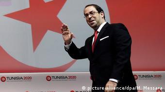 Tunesien Regierungschef Youssef Chahed