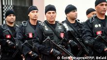 Tunesien Sicherheitskräfte