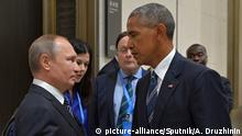 China Treffen Putin Obama