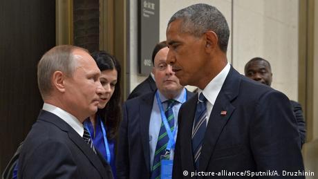 China Treffen Putin Obama (picture-alliance/Sputnik/A. Druzhinin)