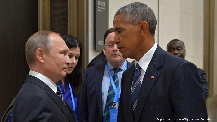 China Treffen Putin Obama